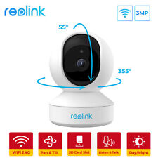 Reolink WiFi Cámara IP Interior 3MP HD Bebé Monitor Audio Bidireccional E1