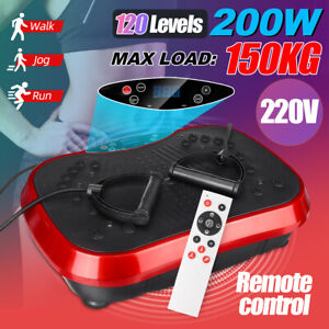 220V 200W Exercise Fitness Slim Vibration Machine Body Trainer Plate Platform
