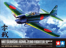 Tamiya 60318 1/32 Aircraft Model Kit Mitsubishi A6M5 Zero Fighter Model 52 Zeke