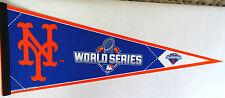 "New York Mets N.L. Champions World Series Collectors Pennant 12"" x 30"" felt"