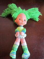 "Hallmark 1983 Rainbow Brite Plush Friend Girl Doll Green Patty O'green 10"""