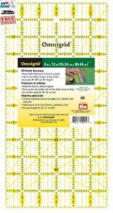 "Omnigrid 6"" x 12"" (15.24cm x 30.48cm). PRYM. For Quilting, Sewing and Crafts."