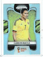 2018 Panini Prizm World Cup Soccer Carlos Bacca (Colombia) SILVER PRIZM #39