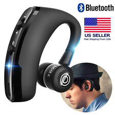 A2DP Bluetooth Stereo Headset Wireless Ear Hook Headphone For iPhone 11 X XS XR