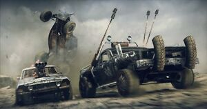 Poster Mad Max Fury Road Charlize Theron Tom Hardy Videogame PS4 Game Xbox #6