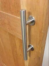 high quality stainless steel sliding barn door handle pull wood door handle