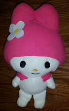 Sanrio My Melody Hello Kitty Pink Bunny Rabbit Plush Stuffed Animal Toy w/Tags