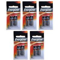 5x 2pk Energizer E90 N 1.5V Alkaline Batteries Replace LR1SG, MN9100, R1, 23023A