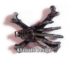 Squelette Main Pince à cheveux... OS... pin up. Rockabilly. Punk Halloween. Goth. Crâne