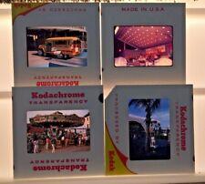 Vtg 1964 1965 New York World's Fair Slide Lot 4 Pc Carousel Guy Lombardo Bus WOW