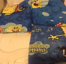 Nickelodeon Spongebob Squarepants 3 pc Twin Flat Fitted & Pillowcase