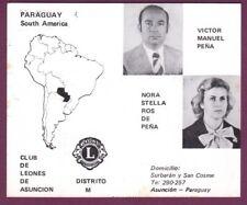 Vintage QSL Radio Card ZP5KB Asunsion Paraguay South America Victor Manuel 1972