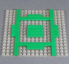 LEGO® System Grundplatte Bau Platte 16x16 Noppen transparent klar durchsichtig