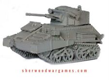 28mm British Vickers Mk VIc With Skirts In Resin By Blitzkrieg WWII Bolt Action,