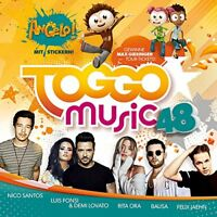 TOGGO MUSIC 48 (MARSHMELLO, ROBIN SCHULZ, NICO SANTOS,...)  CD NEU