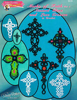 "Crochet  cross bookmark pattern ""Marks of Faith Bookmarks vol.3"" PDF Download"