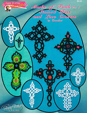 """Crochet  cross bookmark pattern """"Marks of Faith Bookmarks vol.3"""" Annie Potter"""