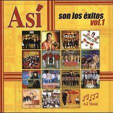 Asi Son Los Exitos 1 CD