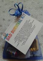 DAD SURVIVAL KIT Keepsake Birthday Christmas Gift Dad Daddy Fathers Day