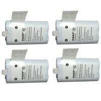 4-Pack HQRP 2100mAh Battery for Flip Ultra 2Gen UltraHD Ultra HD
