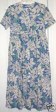 Made in USA HILO HATTIE S Small floral long Hawaiian dress XLNTC