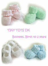 baby bootees knitting pattern 99p