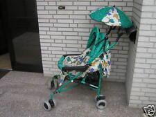 Buggy Teutonia Swing, grün, Einkaufsnetz, Regenschutz
