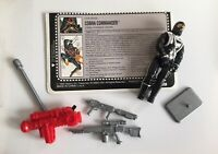 Hasbro G.I. Joe 1992 Battle Corps Cobra Commander Supreme Leader w File Card
