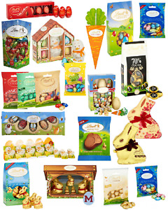 Easter Eggs Lindt Chocolate Bunny Friends Chick Bugs Bees Truffles Easter Gift