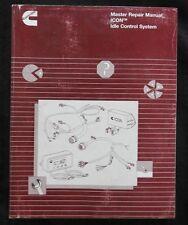 CUMMINS Motor Diesel Icon Control Sistema Master Reparación Manual 550 + Páginas