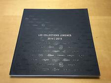Catálogo Catalogue  LES COLLECTIONS LONGINES 2014 - 2015 - Español - Relojes