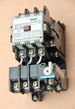 Contactor Fuji SC-2N Magnético 100V + TR2N sobrecarga relé #S835