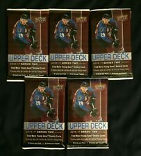 (5) 2016-17 UD UPPER DECK SERIES 2 NHL Game Jersey/Patch/Relic HOT PACKS SP?