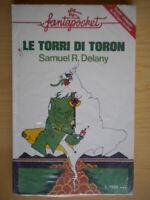 Le torri di ToronDelany Samuel LonganesifantascienzaLibro +poster Nuovo 201