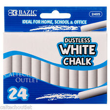 24PC White Chalk