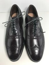 Vintage Allen Edmonds McAllister Burgundy Merlot Oxford Wing Tip Men's 6 1/2 Eee