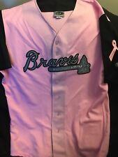 Braves pink bca jersey size 46
