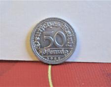 "Münze, 50 Pfennig, 1922 ""F"", Alu, stempelglanz,"