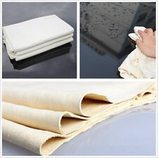 Car Washing Natural Drying Chamois Cleaning Towel Leather Cloth Absorbent Towel