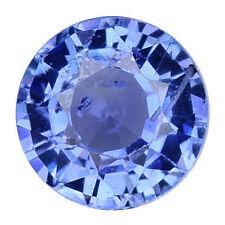 Sri Lanka Round Blue Loose Natural Sapphires