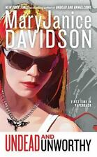 Queen Betsy: Undead and Unworthy 7 by MaryJanice Davidson (2009, Paperback)