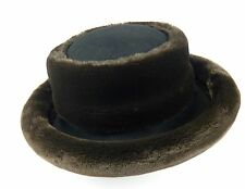 Eric Javits Womens Brown Faux Fur Hat Size 7.75