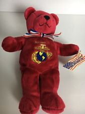 "Eminence Productions The Marines Bear Plush 9"" Military Bears Stuffed Animal"