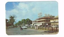 View Of Front Street Colon Panama Real Color Photo Postcard Unused '40s
