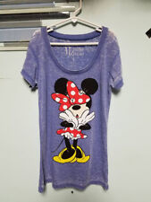 sn318 Minnie Mouse womens shirt size s