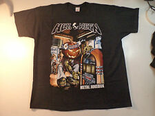 Vintage  HELLOWEEN  Unused T SHIRT    metal heavy power running wild lp cd patch