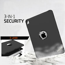 Shock Absorption Rugged  Armor Defender Case Cover for Apple iPad Pro 9.7 Inch