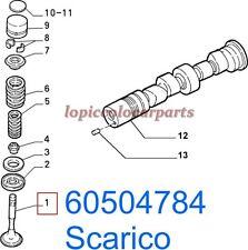 60504784 Valvola Scarico Alfa 33 1300 1500 dal 1988 al 1990 ORIGINALE