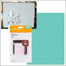 Cuttlebug embossing folders SWISS DOTS embossing folder 2002784 Polka dots