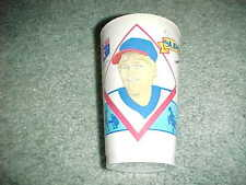 1987 Cleveland Indians Cory Snyder Frozen Coke Baseball Cup